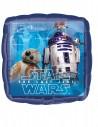 Ballon en aluminium carré Star Wars Le dernier Jedi 43 x 43 cm