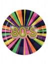 10 Assiettes carton années 80 22