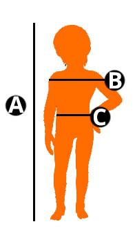 Guide tailles enfants