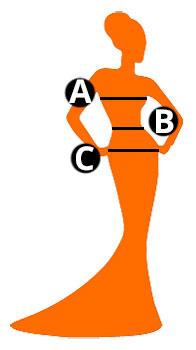 Guide tailles pour femmes